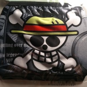 Accessories - FACE MASK - ONE PIECE SKULL LOGO Anime Rave Cover